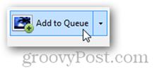 add to queue button process step handbrake dvd rip