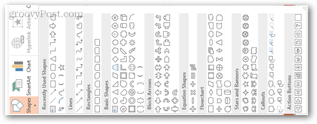 powerpoint new shapes