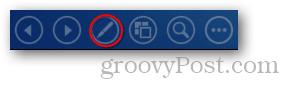 2013 powerpoint menu lower left presentation slideshow