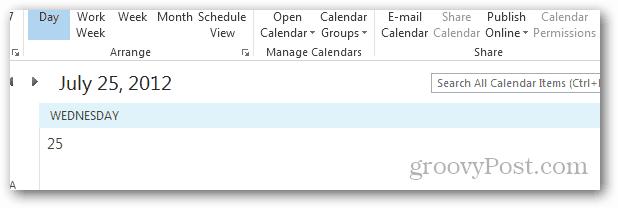 bye bye calendar