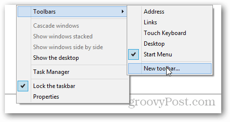 new toolbar windows 8