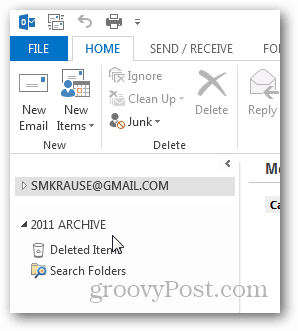 how to create pst file for outlook 2013 - new pst