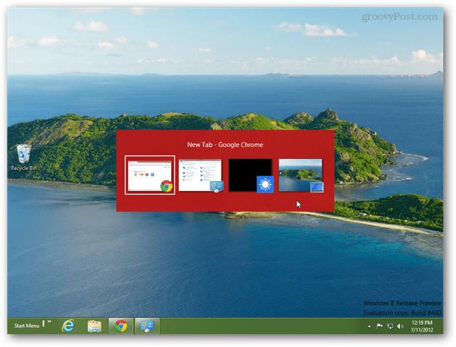 windows 8 alt tab menu