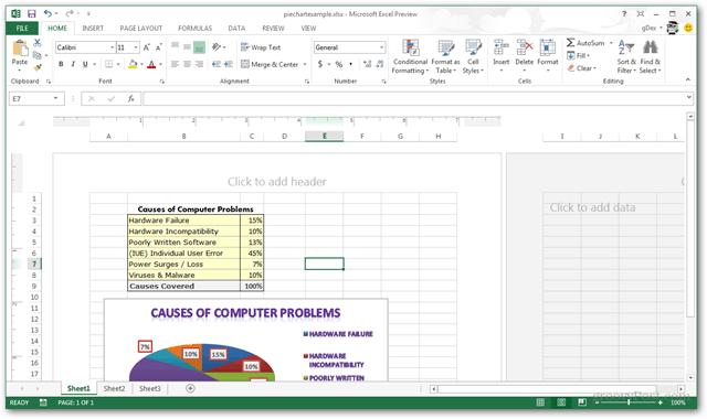 excel 2013 interface screenshot