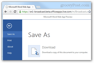 save as download