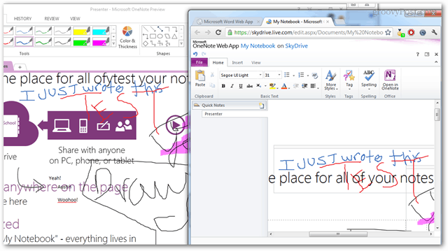 onenote meeting notes