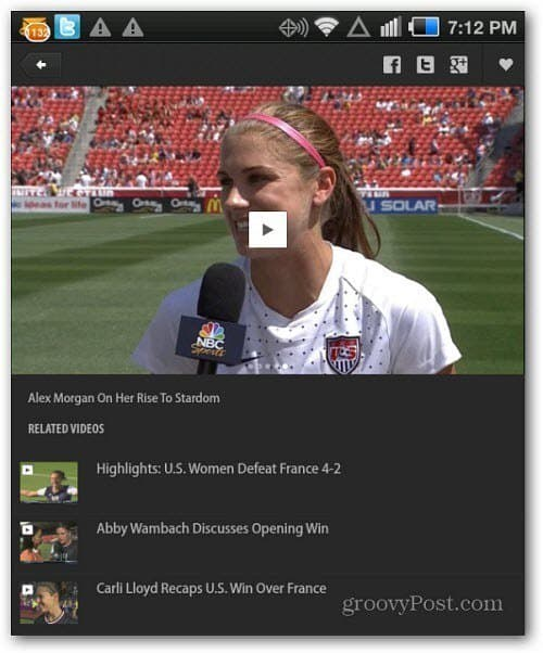 nbcsports android