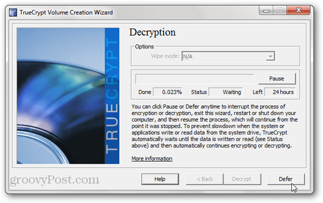 TrueCrypt Decryption
