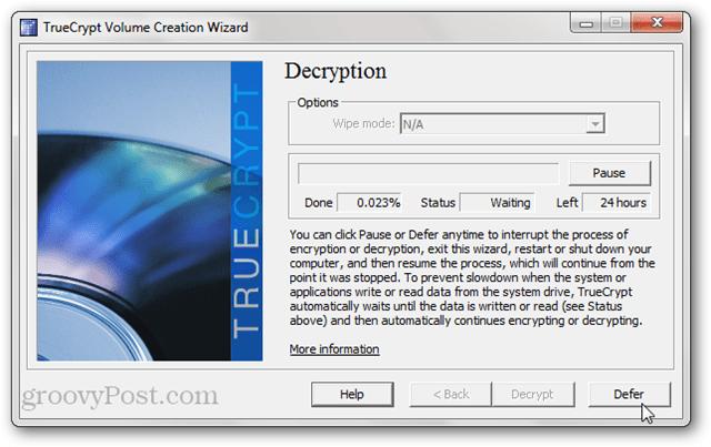 TrueCrypt Decryption