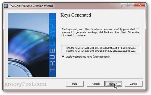 TrueCrypt Header Key and Master Key