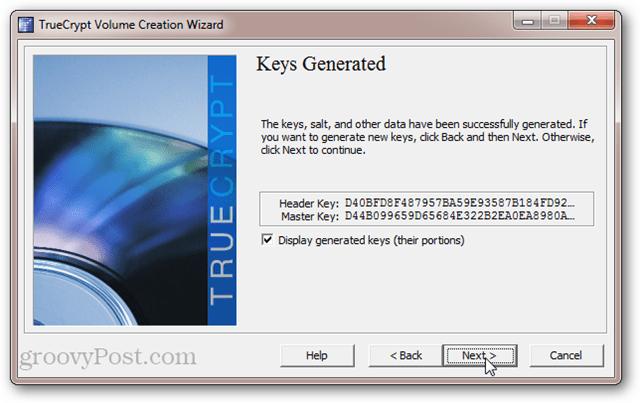 TrueCrypt Header Key and Master Key
