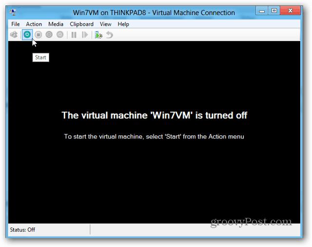 vm off