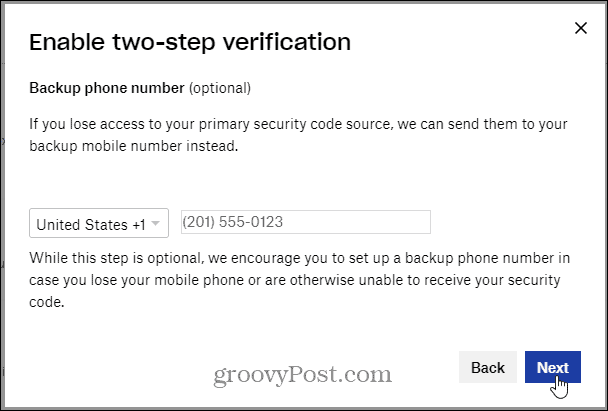 phone number dropbox