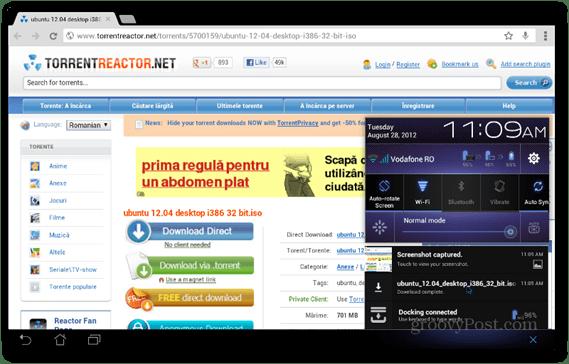 BitTorrent Beta Android download torrent file