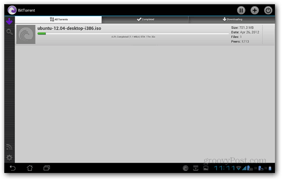 BitTorrent Beta Android main