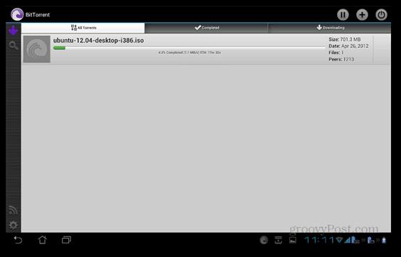 BitTorrent Beta Android main