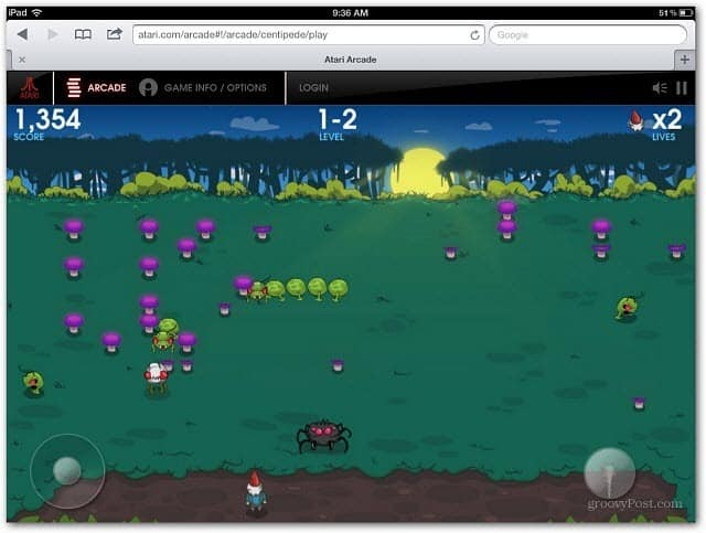 Centipede iPad