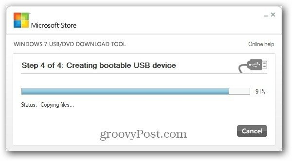 Creating Bootable USB