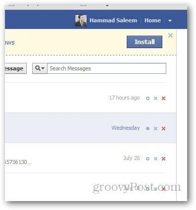 How to Delete Multiple Facebook Messages Easily in Google Chrome