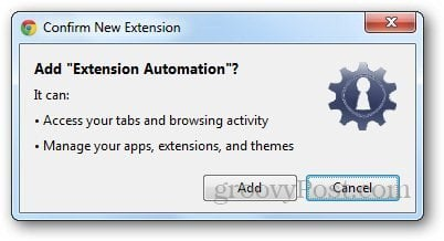 Extension Automation 2
