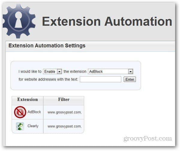 Extension Automation 5