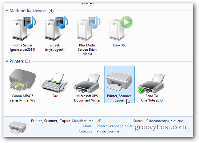 devices and Printers window loads real slow in windows 8.1 ...