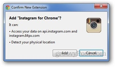 Instagram for Chrome 2