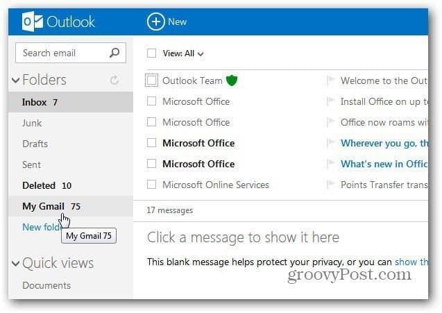 My Gmail Folder