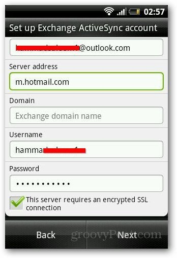 ve registered an email account with Microsoft How to Configure Outlook.com on Android