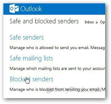 Outlook Blocked List 3