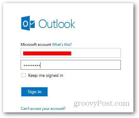 Outlook Message History