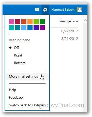 Outlook Vacation Message