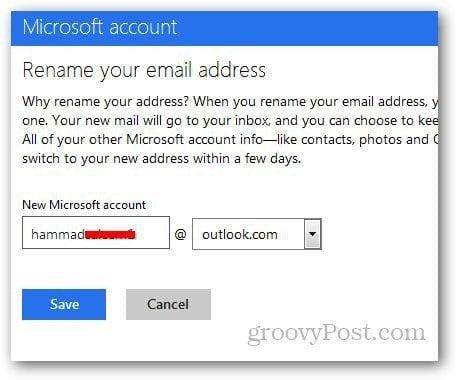 How To Rename Hotmail Com To Outlook Com Email Do you get the same behaviour trying wamcom mozilla 1.3.1? rename hotmail com to outlook com