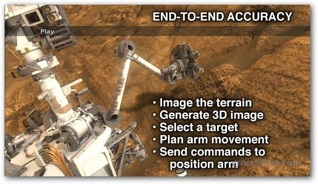 Rover Robotic Arm Video