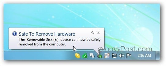 Safe Remove Hardware