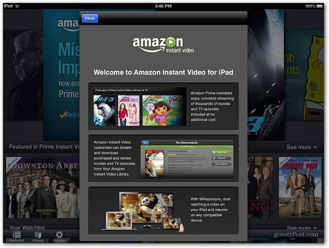 Welcome to Instant Video