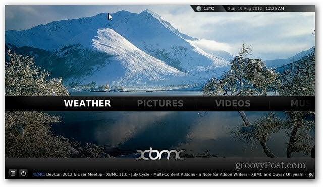 XBMC Weather