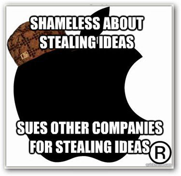 apple stealing ideas