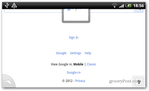google sign in settings