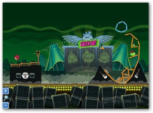 has teamed with the band Green Day for an episode of Angry Birds Friends The Green Day Angry Birds Game