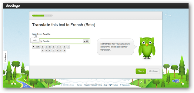 translate languages in duolingo