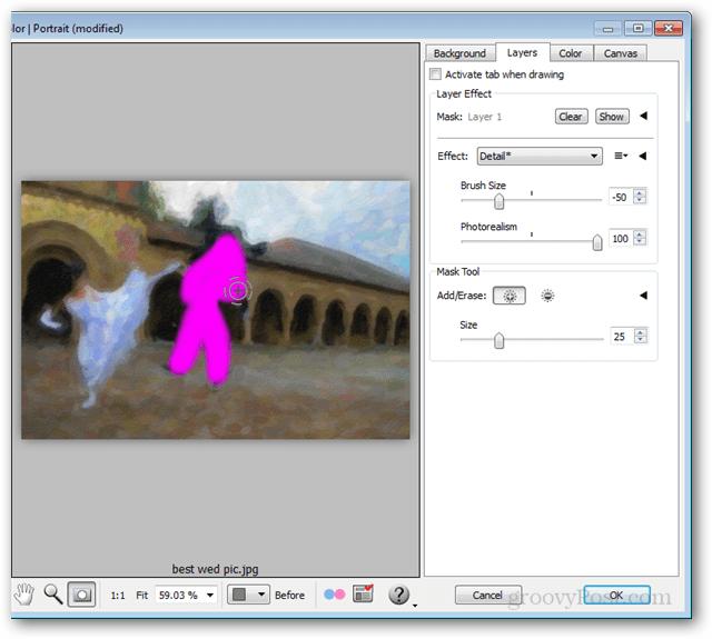 snap art 3 masking