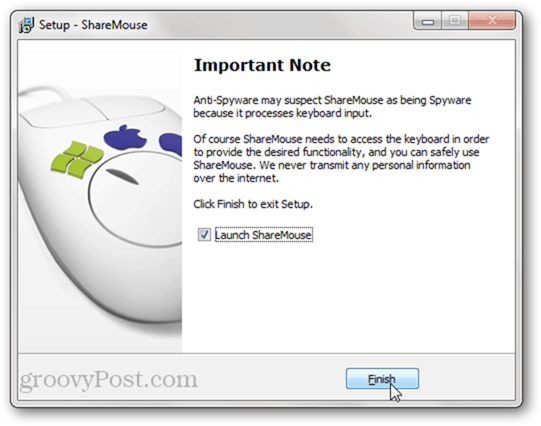 Is sharemouse spyware?