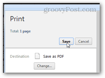 print to pdf in chrome