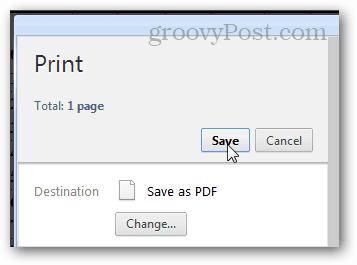 print to pdf in chrome