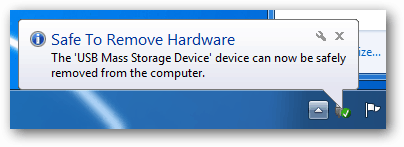 safe to remove hardware