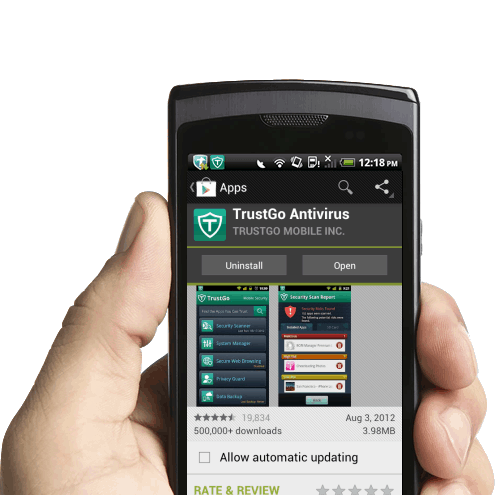 Android: Trust Go Mobile Security App