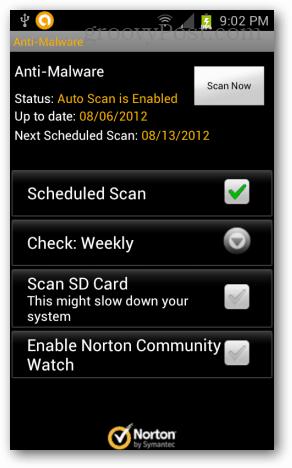 norton android anti malware