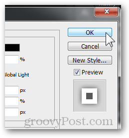 OK button accept changes effect layer blending options photoshop