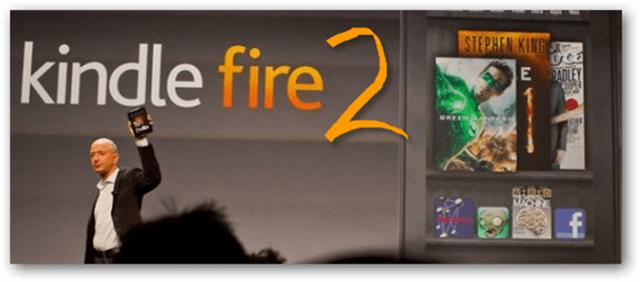Kindle Fire 2 passes secretly through FCC